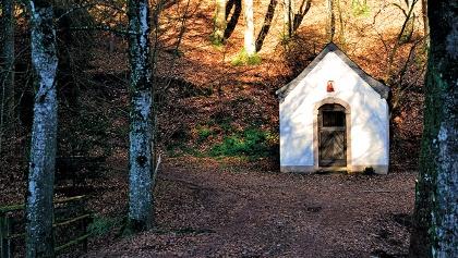Kapelle bei Baustert - Wanderweg Nr. 78 des Naturpark Südeifel