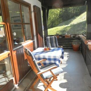 Ferienwohnung auf dem Obersalzberg - Balkon