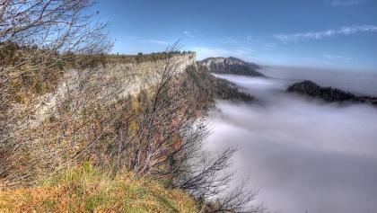 Nebelmeer am Grenchenberg.