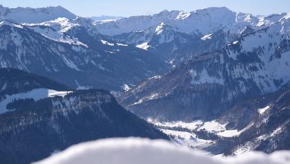 Ausblick Seilbahn Bezau