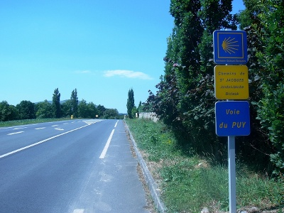 D933 bei Larceveau