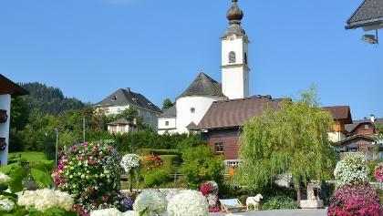 Schlossplatz in Haus im Ennstal