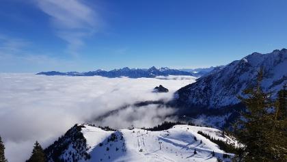 Blick ins Tal Richtung Füssen