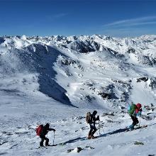 Foto von Skitour: Hochweber Spitze, in den Wölzer Tauern • Rottenmanner und Wölzer Tauern (26.02.2019 06:50:41 #1)