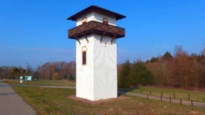 Der besteigbare Limesturm in Hillscheid