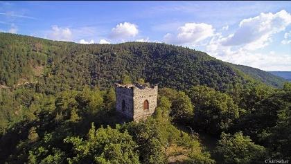 Jagdschloß Eberstein im Schwarzatal in Thüringen