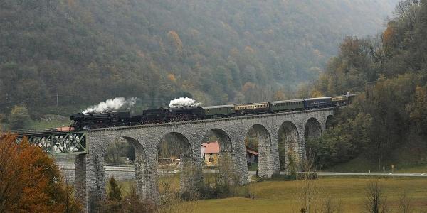 Heritage train, Most na Soči