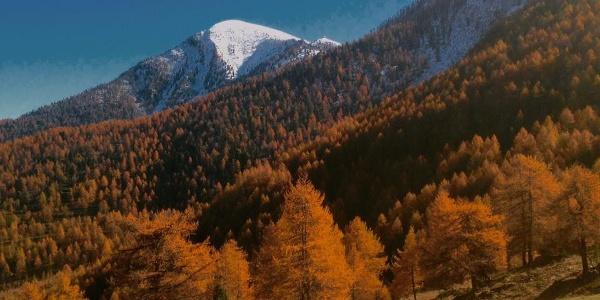 Monte Rascias und Monte Lubin.