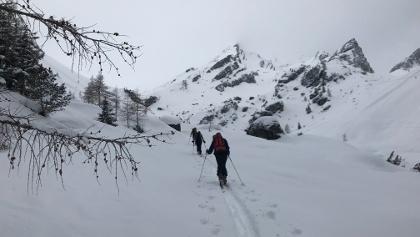 Anstieg Richtung Muttekopfhütte