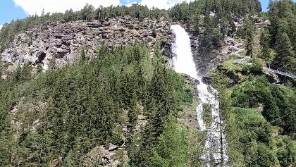 Stuibenwasserfall mit Klettersteig am 16.08.19