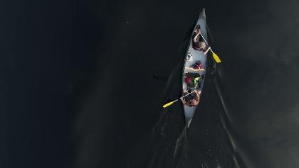 Mit dem Kanu im Nuuksio Nationalpark