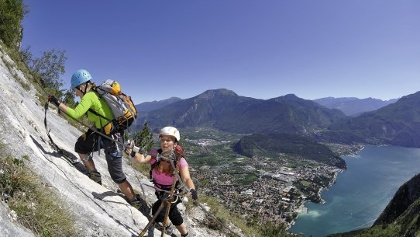 Klettersteig Colodri : Bergfex colodri klettersteig a b tour trentino