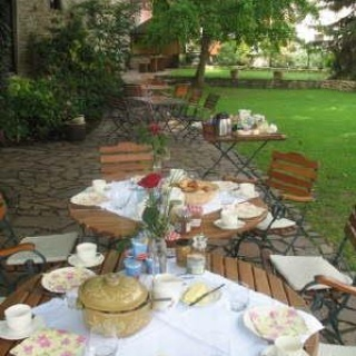 Restaurant Weingewölbe - Garten