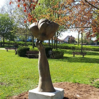 Skulptur DIE WOLKE