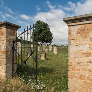 Eingangspforte des Jüdischen Friedhofs
