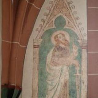 Wandmalerei Hl. Paulus