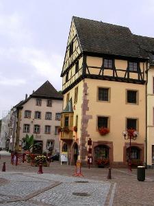 Thann: malerische Altstadt