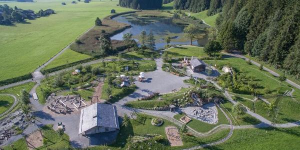 Das Naturschutzgebiet Lenkerseeli mit dem AlpKultur® Spielplatz