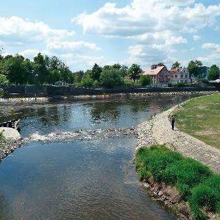 Moldau bei Budweis