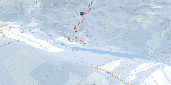 Skitour im Lechtal: Wasserfallkar Zwõlfer P.2346m