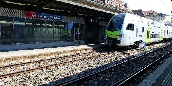Bahnhof Fribourg / Freiburg