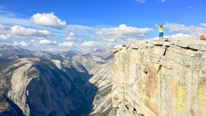 Summit Half Dome in Yosemite with AOA!