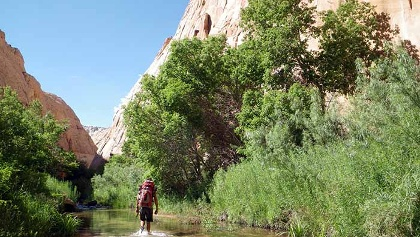 Backpacking the Escalante River with AOA