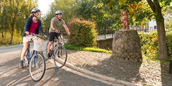 Radfahren in Alfersteg