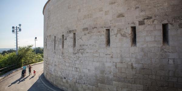 sétány a Citadella oldalában