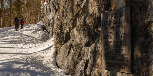 Aufstieg zum Lochbachtal