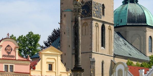 The Dean's church of the Assumption of the Virgin Mary in Havlíčkův Brod