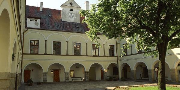 Courtyard of Hrotovice castle