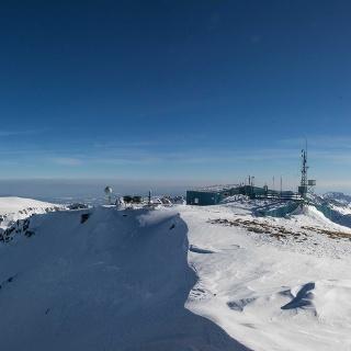 Gipfelpanorama am Musala