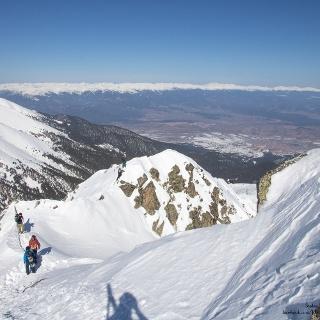 Vorgipfel des Todorka hoch über Bansko