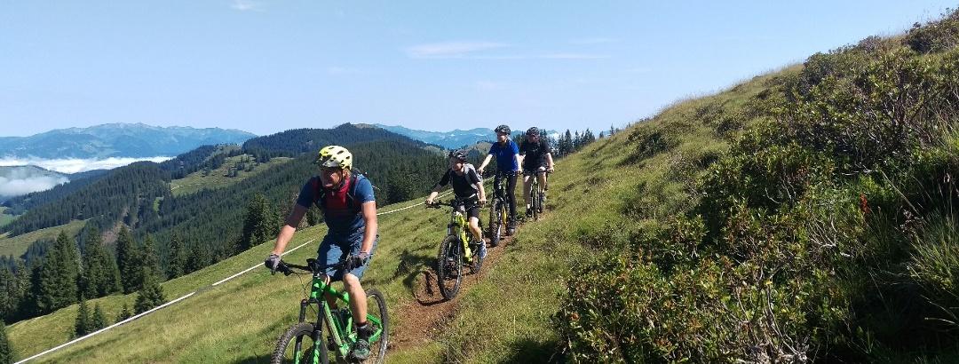 Mountainbiken in der Wildschönau