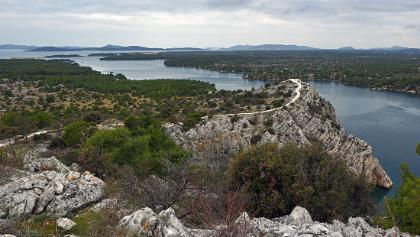 The route to the next panoramic point