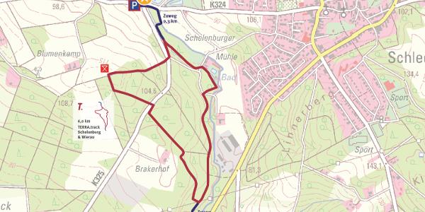 Auszug Schautafel An der Schelenburg