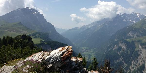 Aussicht St. Margrethenberg