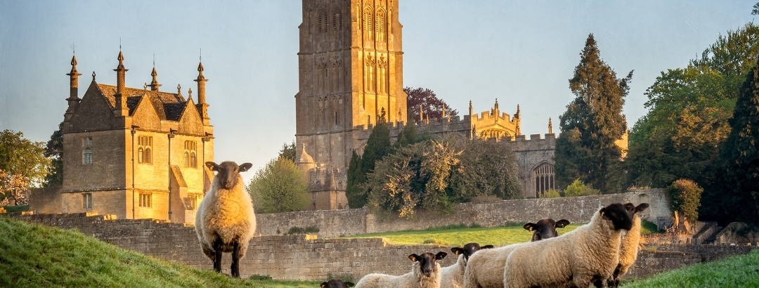 The quintessentially English countryside of the Cotswolds