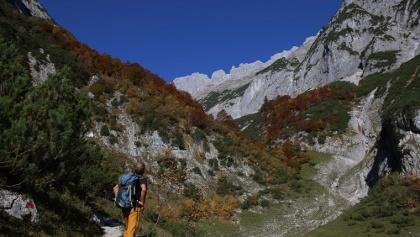 Beginn Bergleintal