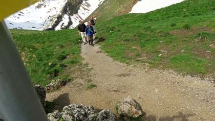 Auf dem Höhenweg Landsberger Hütte – Neunerköpfle.
