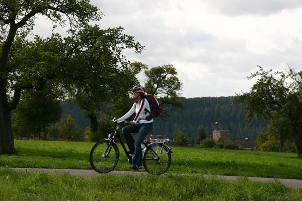 """E - Biketour """"Panorama Pur"""" - Auf der Höhe und im Tal"""