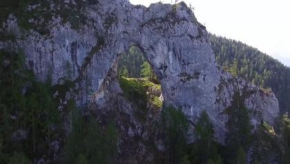 Felsentor, am Weg zur Uschowa, Variante- Nordostansicht