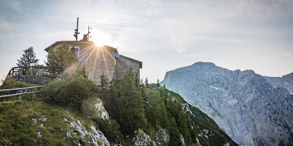 Letzte Sonnenstrahlen am Kehlstein