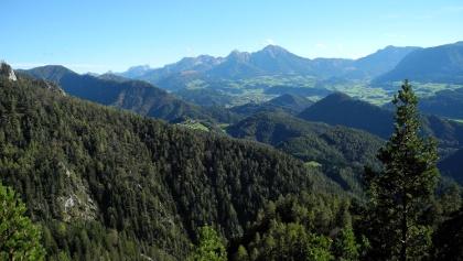 Panoramablicke von der Bärenriedlau ins Windischgarstner Tal © Stückler