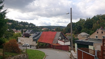 Foto Blick zurück - Oberer Rosenberg