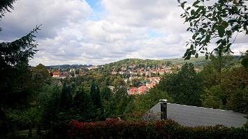 Foto Blick über Sebnitz