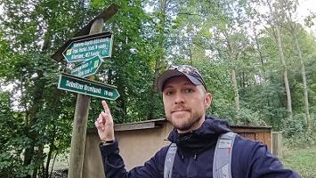 Foto Wegweiser - Richtung Urzeitpark