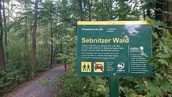 Foto Eingang Sebnitzer Wald