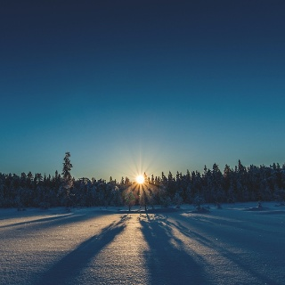 Frühlingswinter in Norrbotten